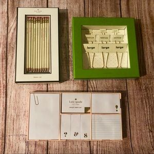 Kate Spade Classy Office Set! Great Gift!